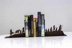 The Lord of the Rings bookends - Handmade nursery decor, gift idea for kids - Home decorations, accessories