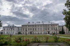 Zamoyski Palace in Poland on http://picstrip.net/?p=8866 #palac #palace #zamosc #polska #poland #city #building #architecture #history #travel #trip #picstrip