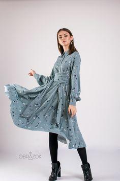 #dress #midi #store #newcollection #fashion #цветочныйпринт #тренд2020 #натуральнаяткань #мода #платья #женскаяодежда Duster Coat, Raincoat, Photo And Video, Jackets, Instagram, Fashion, Rain Gear, Down Jackets, Moda