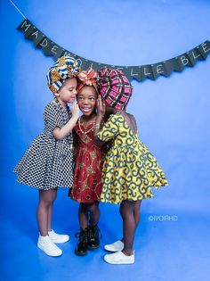Modern African Dress Style for Kids 2018 That Will Blow Your Mind ~ AfroFashionStyle African Babies, African Children, African Women, African Print Fashion, African Fashion Dresses, Kids African Dresses, African Attire, African Wear, African Style