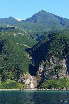 Kamuiwakka Falls  カムイワッカの滝
