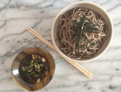 Perfect on a hot day, this traditional and simple soba noodle dish is quick to make and packs up easily.