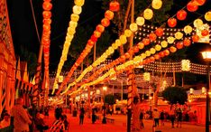 Seville April Fair (Feria de Abril) 2020 - Dates & Map Photo Café, Insta Photo, Singles Holidays, Holidays With Kids, Patio String Lights, Seville Spain, Light Garland, Light Images, Mexico Travel