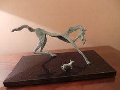 No. 29: Ani Mollereau. Woof. Brass, Marble Base. 30 x 54 x 26. €1,650.