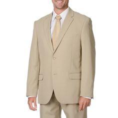 Bolzano Uomo Collezione Men's 2-button Suit (-34S/28W)