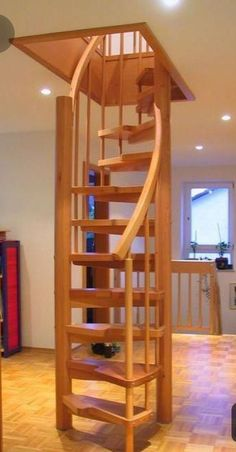 Full size of loft hatch bedroom tiny house ladder design stairs apartments remarkable ideas permanent home . House Ladder, Tiny House Stairs, Attic Ladder, Loft Staircase, Spiral Staircase, Attic Renovation, Attic Remodel, Escalier Design, Home Stairs Design