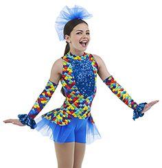 2f49024ad857 GO FISH   Cicci Dance Jazz Dance Costumes, Ballet Costumes, Rainbow Fish  Costume,