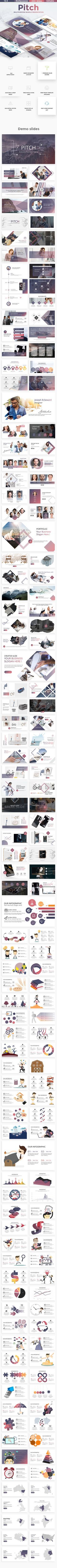 Pitch #Multipurpose #Google #Slide Template - Google Slides Presentation Templates