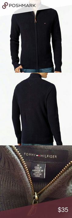 Tommy Hilfiger Mens Sweater Full zip mens sweater  Brand:Tommy Hilfiger Condition:Euc Tommy Hilfiger Sweaters Zip Up