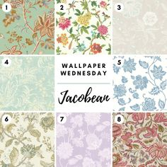 Jacobean wallpaper ideas for bedroom, bath, living room, or any space in your home! All available through Fabric House. Wall Art Wallpaper, Wallpaper Ideas, Drapery Hardware, Great Paintings, Jacobean, Fabric Houses, Houston Tx, Bath, Quilts
