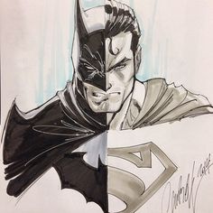 StuffNThings - Batman/Superman by J. Scott Campbell