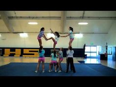Crean Lutheran High School Pyramid - YouTube