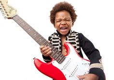 Rock Kid Photo  Niño Roquero