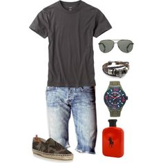 """Mens Summer Outfit"" by beng-gallo on Polyvore"