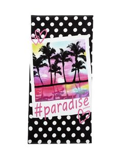 Shop Paradise Photoreal Beach Towel and other trendy girls shoes & accessories new arrivals at Justice. Find the cutest girls new arrivals to make a statement today. Diy For Girls, Cute Girls, Summer Vacation Packing, Beach Towel Bag, Shop Justice, Justice Stuff, Towel Girl, Swim Shop, 11th Birthday