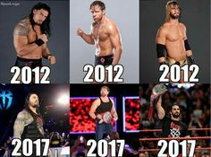 The shield before after Le Shield, The Shield Wwe, Wwe Pictures, Wwe Photos, Seth Freakin Rollins, Seth Rollins, Roman Reighns, Wwe Events, Roman Reigns Dean Ambrose