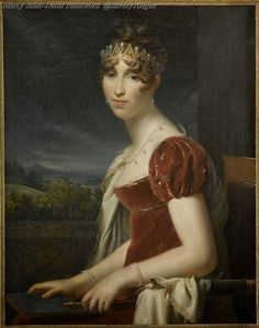 Hortense Beauharnais, Queen of Holland by Francois Gerard. (1803 -1808).