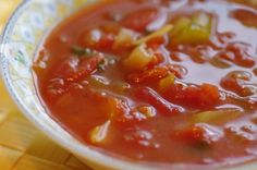 Weight Watchers 0 Point Tortilla Soup from Food.com: A great soup that fills you up and only 0 points on the WW program.