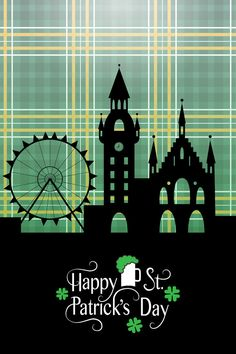 St. Patrick's Day Card by Alps View Art on @creativemarket