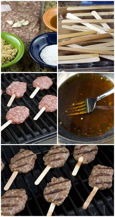 Pops are the perfect idea for a family Grilling Recipes, Pork Recipes, Recipies, Camping Meals, Kids Meals, Appetizer Recipes, Appetizers, Hawaiian Bbq, Family Bbq