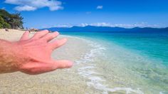 The Hand at Fitzroy Island