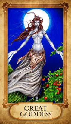 Great Goddess Prayer Card by TheVodouStore on Etsy, $2.50