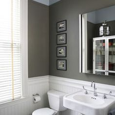 Bathroom Beadboard Design, Pictures, Remodel, Decor and Ideas - page 3