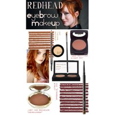 Redhead Eyebrow Makeup Products