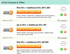 CouponKings provides the best coupon codes for Indian Shoppers. If you are desperate to get the best discount from online shopping sites in India then CouponKings.in is your solution.