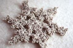 Aesthetic Nest: Crochet: Twine Snowflakes
