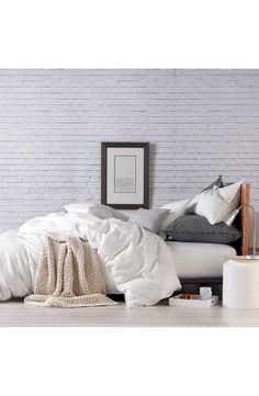 PURE Comfy White Duvet Cover Nordstrom sale #nsale