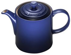Le Creuset Stoneware Grand Teapot, Graded Blue
