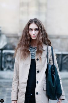"thetrendytale: ""cgstreetstyle: ""Marine Deleeuw by Claire Guillon - CGstreetstyle "" MORE FASHION AND STREET STYLE"" http://just-it-girl.tumblr.com Instagram: @justitgirl"