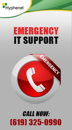 Call Hyphenet for Emergency IT Support in San Diego. Call us now: Fast Service Onsite Emergency Technical, Network, Computer, Security & Computer Service, Computer Security, Remote Assistance, Slow Computer, Managed It Services, Core Competencies, Technology Support, Service Learning, Help Desk