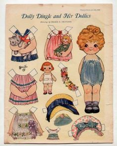 Dolly Dingle and Her Dollies