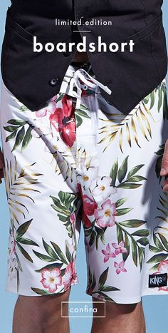 Blue Shark, Surf Wear, Summer Boy, Beachwear, Swimwear, Floral Style, Flower Power, Surfing, Mens Fashion