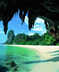 Phra Nang Beach -  Railay, Thailand                                Top 100 Most Beautiful Beaches in the World