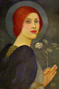 An Angel by Marianne Stokes  (Austrian, 1855–1927). Oil on canvas thedailypainting.blogspot.ca/2010_10_01_archive.html?m=1