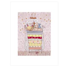 Princess and Pea Poster from Maileg