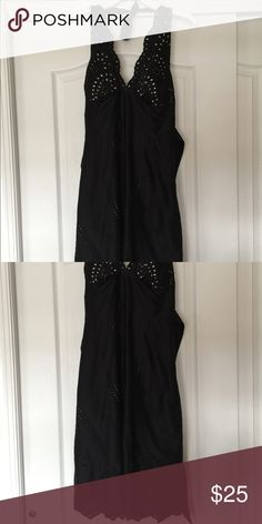 WHBM Halter Dress Beautiful dress worn to a wedding once. Excellent condition. White House Black Market Dresses Backless