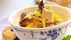 Kalkun smaker like godt i dag - Søk Frisk, Cornbread, Hummus, Thai Red Curry, Poultry, Potato Salad, Mashed Potatoes, Chicken, Ethnic Recipes