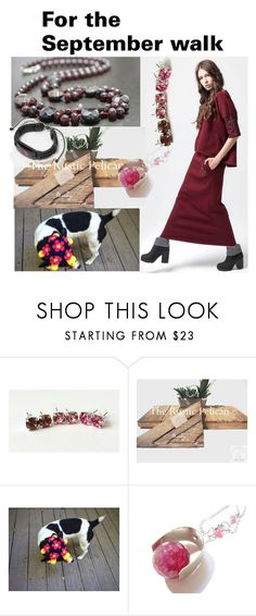 """""""For the September walk"""" by varivodamar ❤ liked on Polyvore featuring modern"""