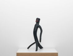 Cícero Alves dos Santos - Véio Sem título , 2012 Tinta acrílica e madeira 51 x 30 x 27 cm Outsider Art Fair, 30, Table Lamp, Decor, Saints, Wood, Artists, Ink, Table Lamps