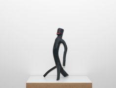 Cícero Alves dos Santos - Véio Sem título , 2012 Tinta acrílica e madeira 51 x 30 x 27 cm