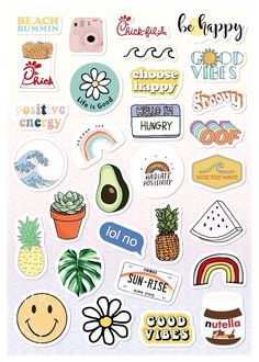 Vsco Light Pink Blue Yellow Funny Stickers For Girls For Bottle Phone Case Laptop Tumbler 30 Pcs - Aufkleber Tumblr Stickers, Funny Stickers, Laptop Stickers, Free Printable Stickers, Aesthetic Iphone Wallpaper, Wallpaper S, Aesthetic Wallpapers, Beautiful Wallpaper, Aesthetic Backgrounds