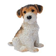 Fox Terrier Puppy Dog Statue - CF2466