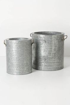 Corrugated Planter Set  - Anthropologie.com