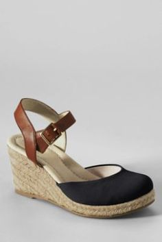 a2952565398b Women s Cara Closed Toe Espadrilles from Lands  End Closed Toe Espadrilles