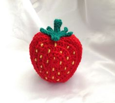 Ravelry: Strawberry Coaster Set by Ling Ryan