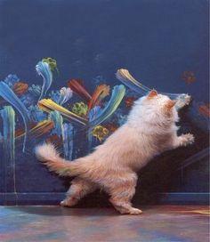 芸術,猫画像